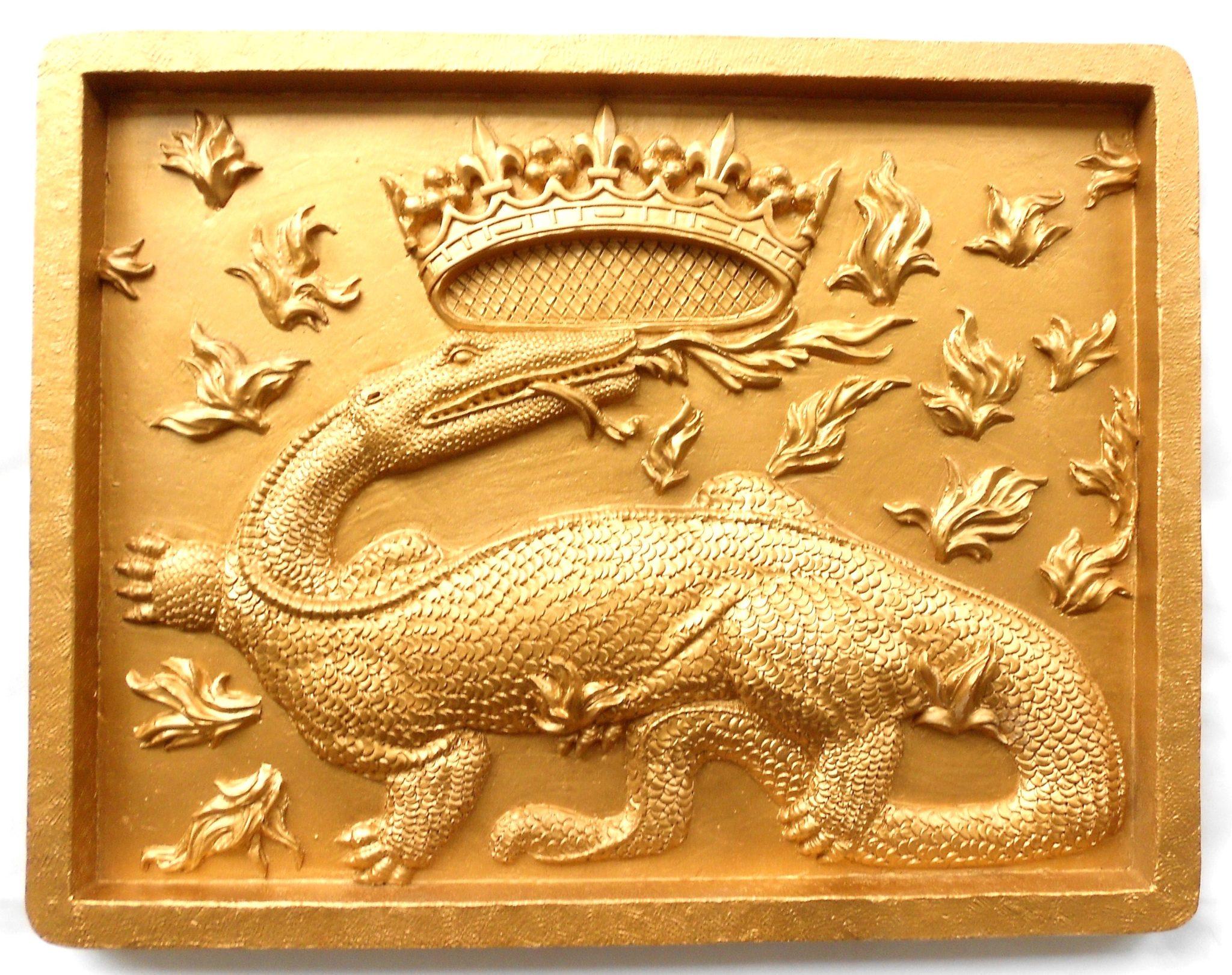 la salamandre, embleme de francois 1er