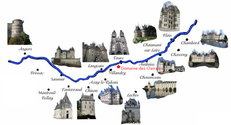 carte des chateau de la loire Chateaux De La Loire Pdf Free Download | Software Um Pdf Zu Bearbeiten